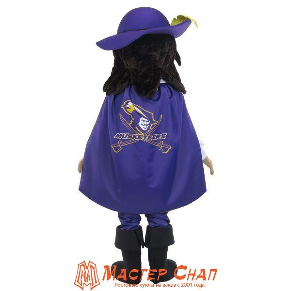 ростовая кукла мушкетер талисман школа