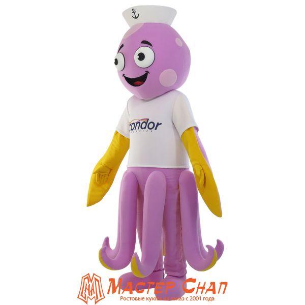 ростовая кукла Осьминог талисман парк