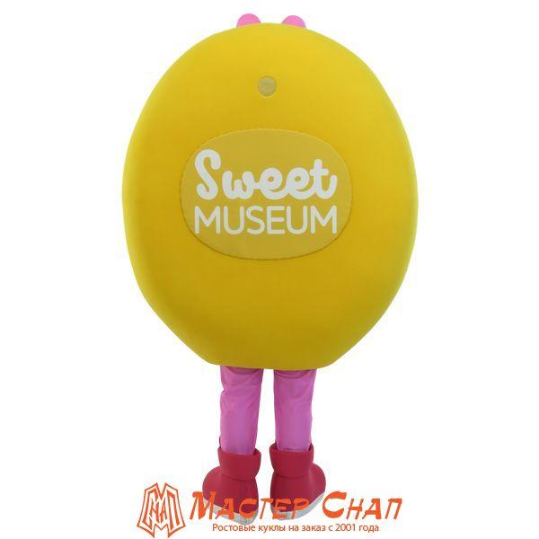 ростовая кукла пончик талисман музей сладостей