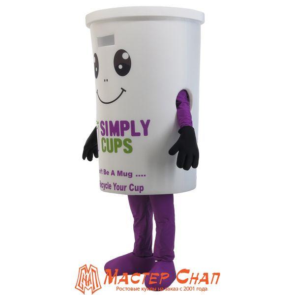 ростовая кукла стакан реклама