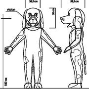 Зверушка/человечек обычное тело