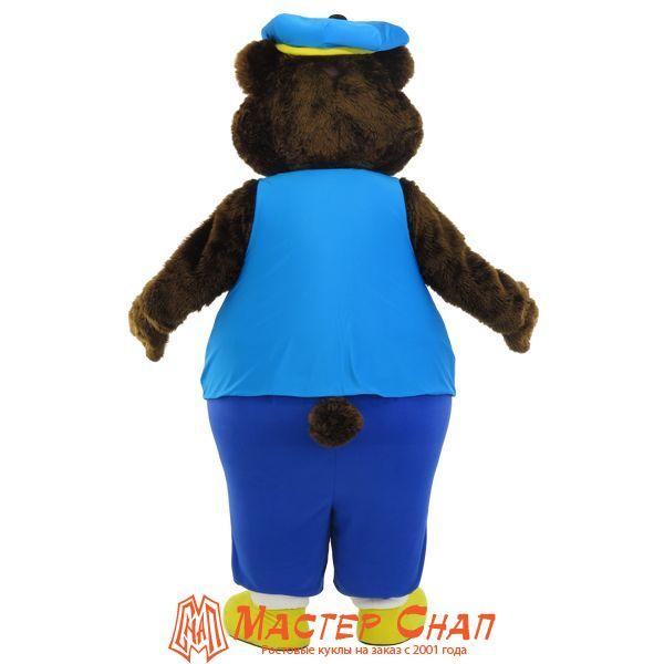 Ростовая кукла Медведь талисман голф-клуб