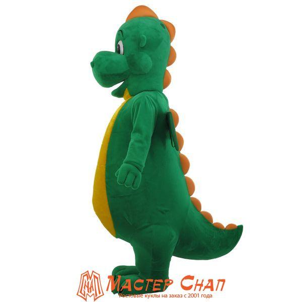 ростовая кукла дракон зеленый