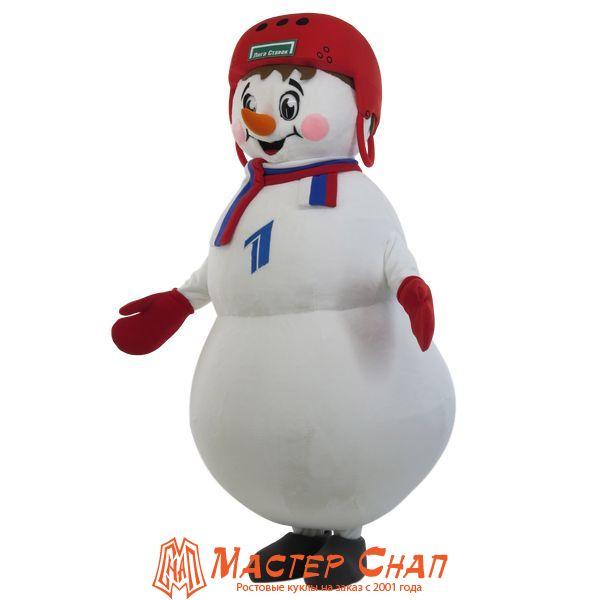 Ростовая кукла снеговик шоу 1 канал
