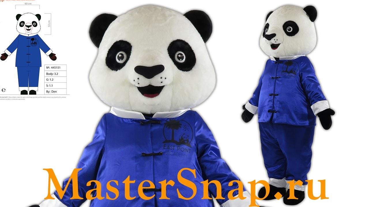ростовая кукла панда